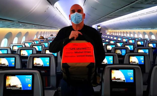 70 giorni negli aeroporti: il corriere israeliano che mantiene in vita i trapianti di organi