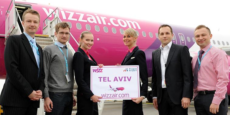 Wizzair ha annunciato il nuovo collegamento Milano Malpensa col Ben Gurion International Airport