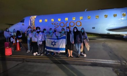 200 israeliani tornano a casa dopo essere stati bloccati in America Centrale dal virus