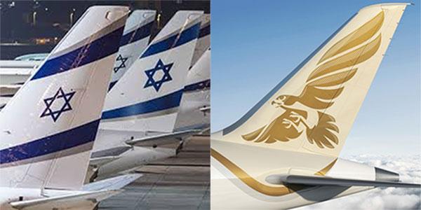 Israele e Bahrain, si parte con 14 voli diretti