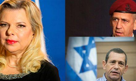 L'esempio negativo degli esponenti israeliani