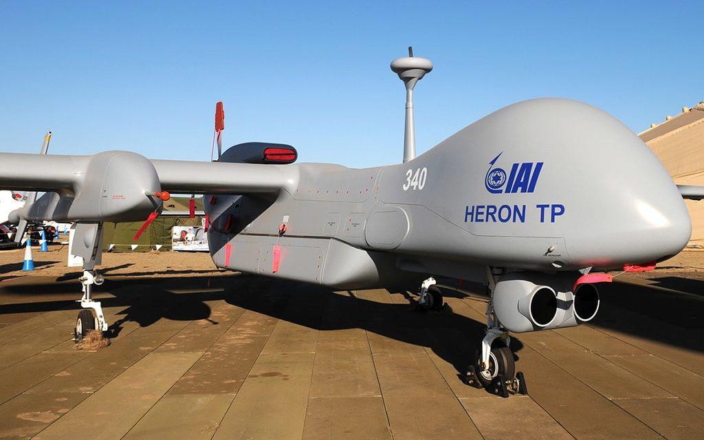 IMI fornirà droni Heron alla guardia costiera dell'Unione Europea