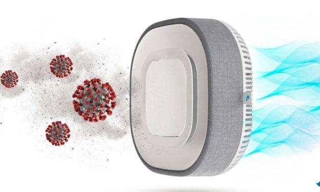 Aura Air promette di filtrare l'aria ed eliminare le particelle di COVID19