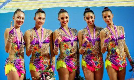 Ginnastica ritmica, Israele vince l'oro