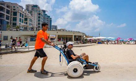 Tel Aviv è stata nominata tra le città più accessibili ai disabili al mondo