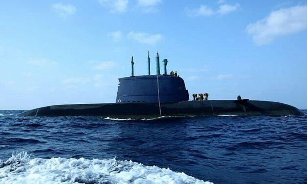 Sottomarino israeliano nel Golfo Persico