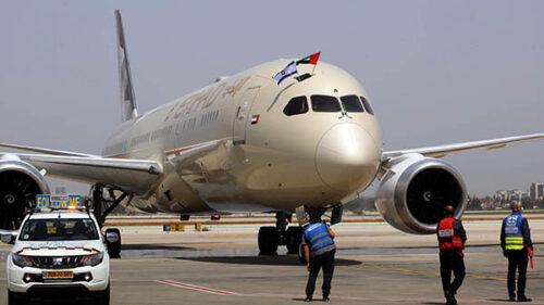Etihad inaugura la rotta Tel Aviv – Abu Dhabi