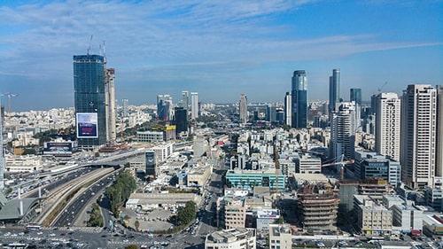 """Tel Aviv ospita 20 società """"unicorno"""", 14 delle quali hanno raggiunto una valutazione di oltre $1 miliardo solo nel 2020."""